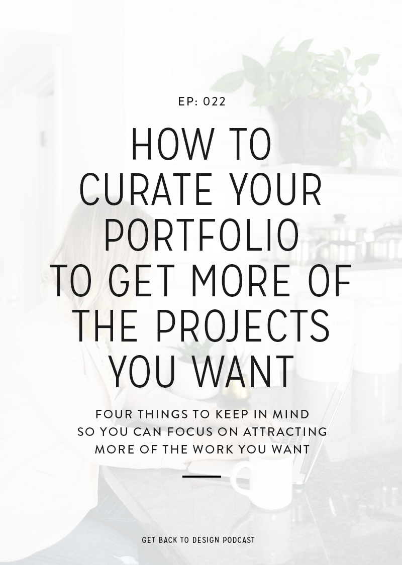 This week we're talking about portfolios and answering your questions on how to diversify your work once you've gotten yourself established in a niche that you don't necessarily want to be stuck in anymore so you can start booking more of the projects you really want instead.