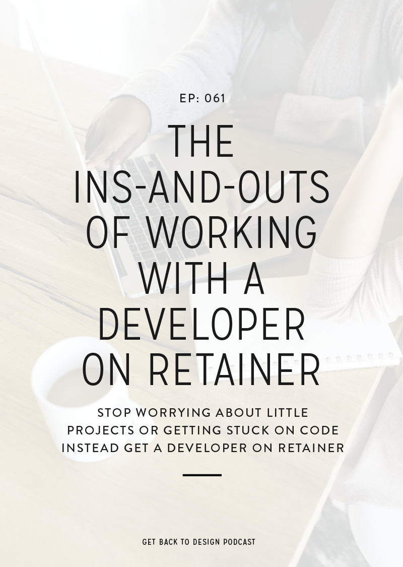 Learn why working with a developer on retainer is a good option, what the process looks like, and examples of tasks you can hand off.