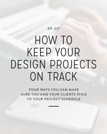 At one point or another all designers have projects where little things pop up while working with a client that end up making the project go off schedule. While it's incredibly frustrating every time it happens, there are a few things you can do, even before the project begins, to help avoid this, and in this week's episode we're covering them.