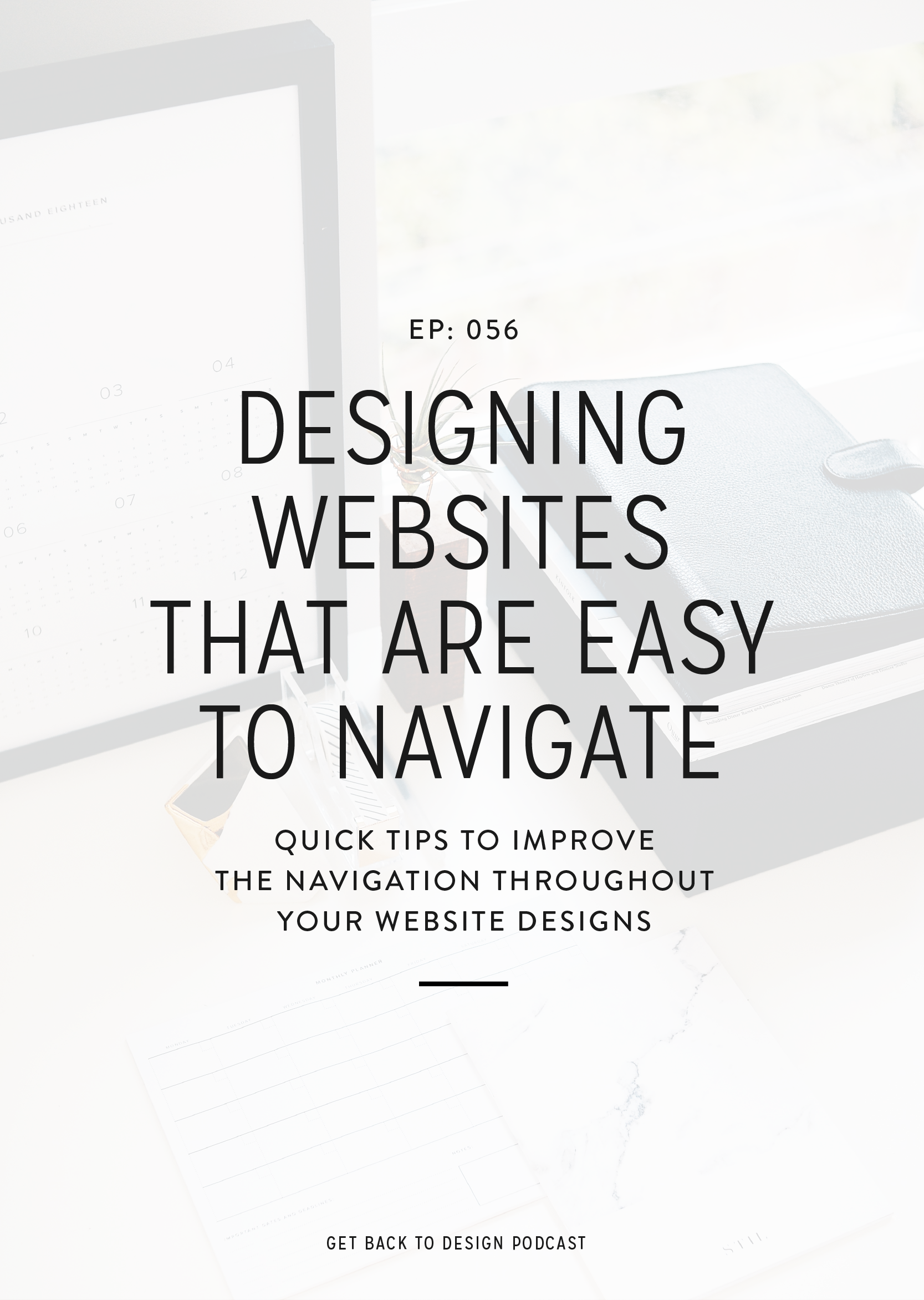 When we think about website navigation, it's easy to consider the menu at the top and that's it. But there are other pieces that should be considered. It can feel like a lot to think about, so today we'll go over some quick tips to design websites that are easy to navigate.