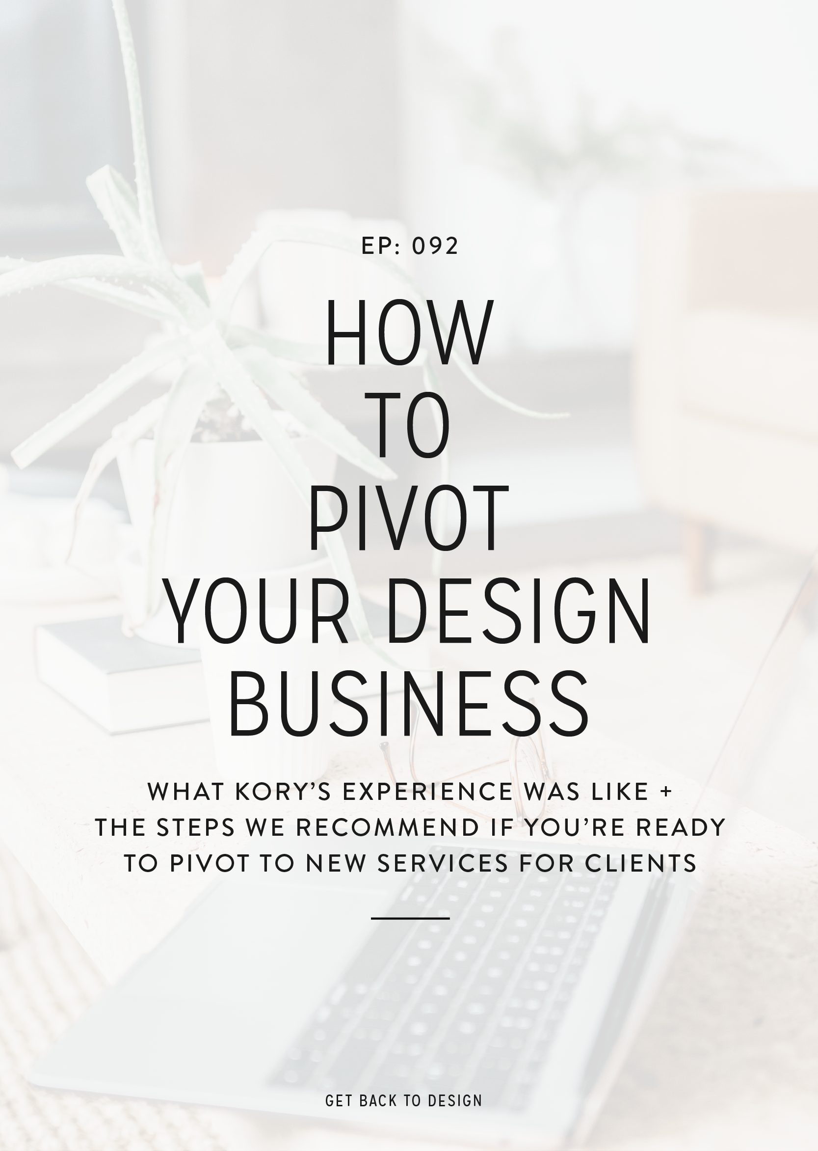 I thought it would be fun to share my experience of pivoting my business to show you that it's okay to pivot and the steps that I took to do that.